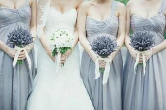 Lavender & Pale Blue Wedding Inspiration Board