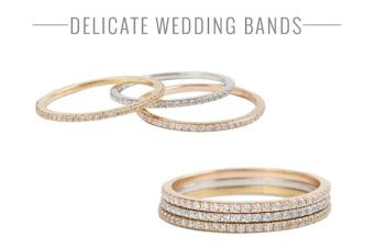 Catbird Engagement & Wedding Rings