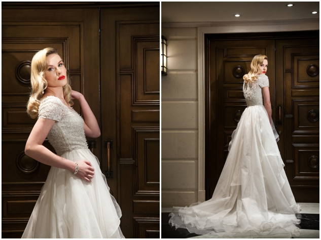 Hollywood Glamour Style Wedding Dresses : Hollywood glamour wedding inspiration by perfect events via bridal