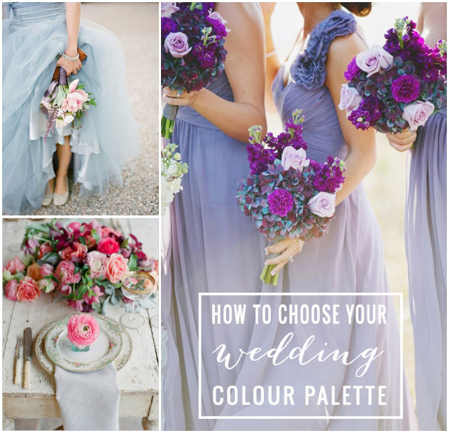 Wedding Planning Tips Choosing The Right Colour Palette