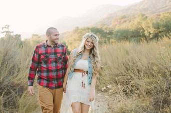 Sweet, Playful & 'A Little Bit Country' Engagement Shoot