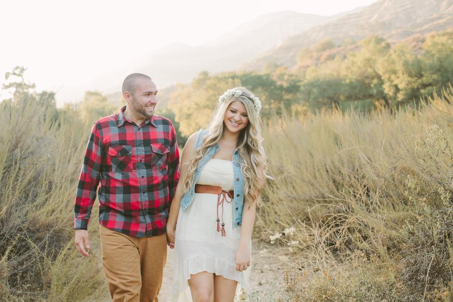 senior photo props ideas - Sweet Playful & A Little Bit Country Engagement Shoot