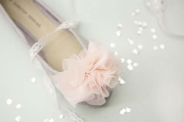 chiffon shoe clips