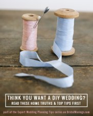 Wedding Planning Tips: Is A DIY Wedding Right For You?