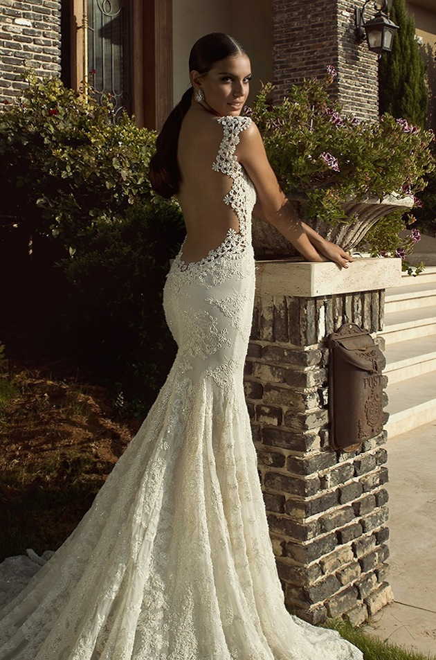 Beautiful Wedding Dresses With The Back Out Photos Styles Ideas