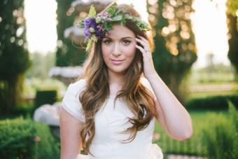 Dreamy Garden Bridal Shoot