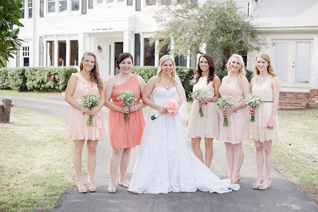 Teal and Peach Wedding Larissa Nicole Photography 28