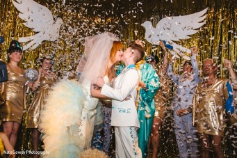 Is This The Campest, Glitziest, Funnest Wedding EVER?