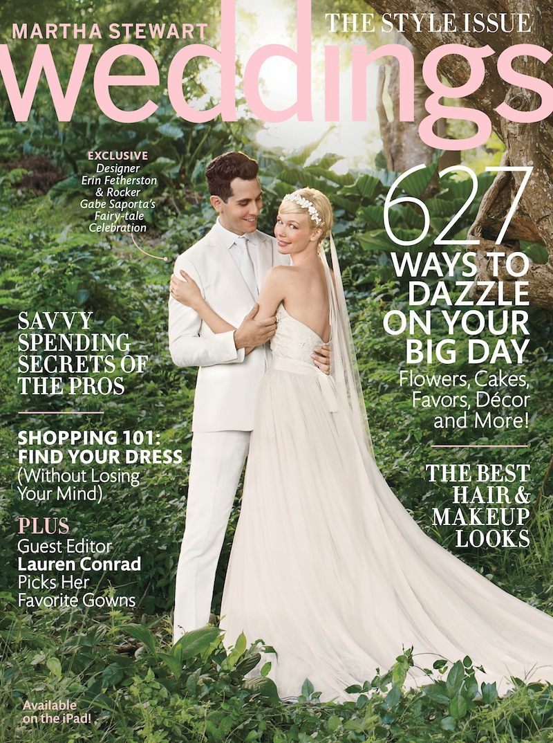 Exclusive Peek Inside Martha Stewart Weddings Fall 2013 Magazine