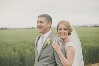 Fun & Relaxed Rustic Wedding In A Little White Chapel