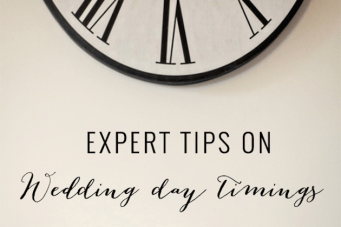 Top Tips On Wedding Timings By A Wedding Planner
