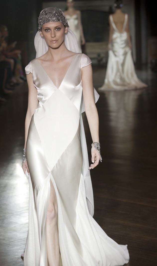 muse collection s s 2014 art deco inspired silk wedding dresses