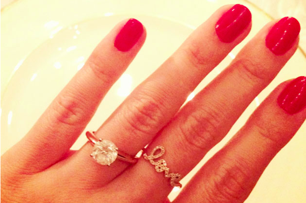 Lauren Conrad's Engagement Ring And 'Love' Ring