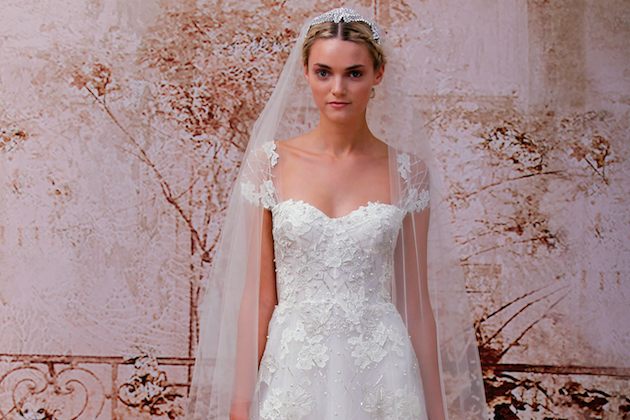 Monique Lhuillier Fall 2014 Wedding Dresses Stunning Monique Lhuillier