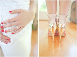 Sweet and Chic Blush Pink Bridal Shower