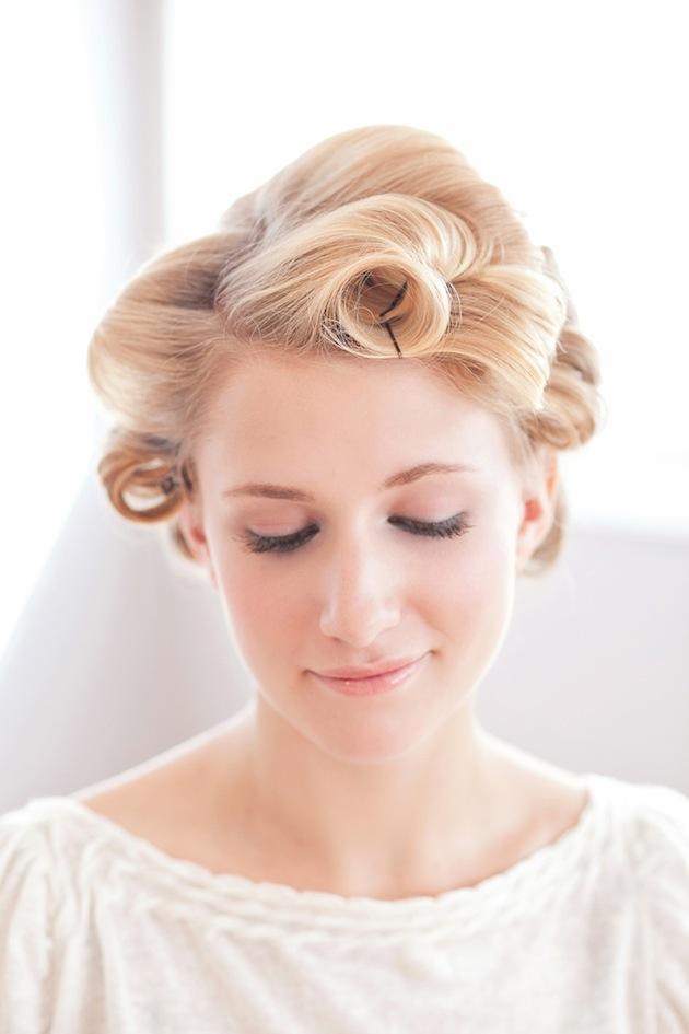 Messy Chignon Tutorial Bridal Musings Wedding Blog