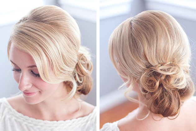 messy chignon tutorial | By Millie B Photography | Bridal Musings (1)