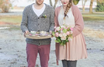 Tea For Two: A Cosy Winter Engagement Shoot