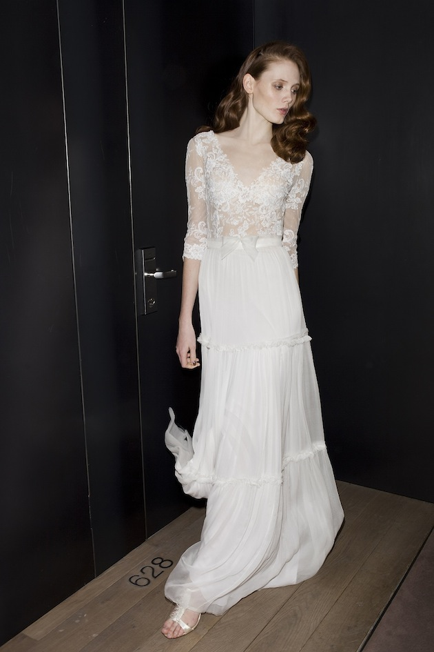 Mira zwillinger wedding dress collection 2013 2014 bridal musings