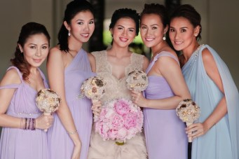 Romantic, Opulent, Pastel Wedding In The Philippines