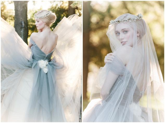 Marie Antoinette Ball Gown Wedding Dress By Sareh Nouri