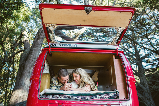 VW Bus Engagement Shoot | Anita Martin Photography 18
