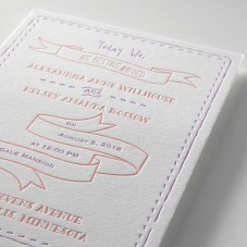 Letterpress Loveliness From Invitations By Dawn Plus A 25% Discount For All Bridal Musings Readers!