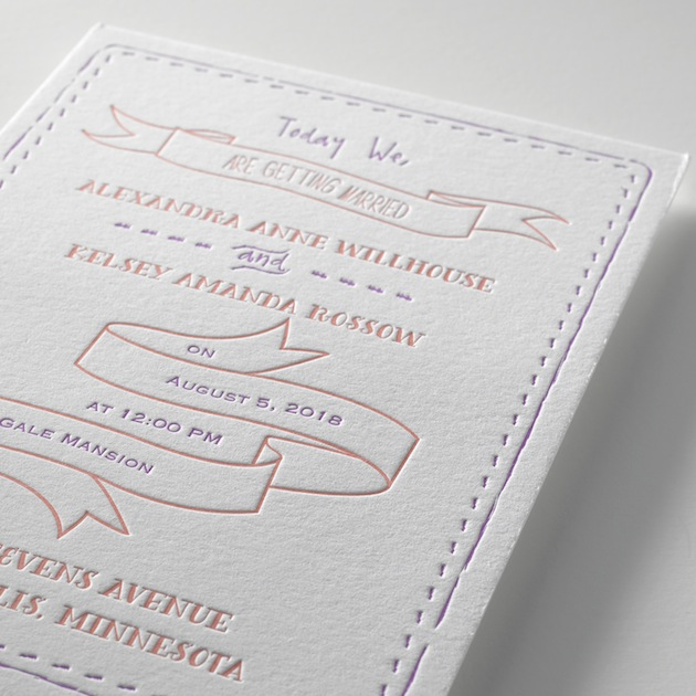 Invitations By Dawn Letterpress Collection | Bridal Musings Wedding Blog 2 (4)