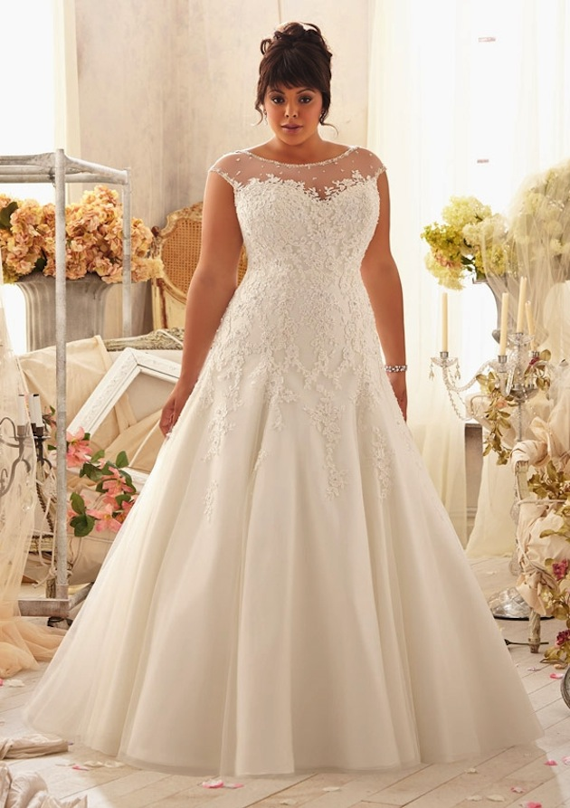 Plus Size Wedding Dress - The Fashion Fantasy
