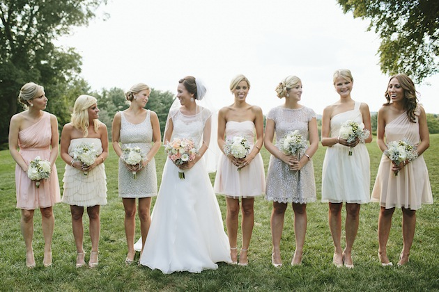 Peach And Gold Wedding // Brooke Courtney Photography // Bridal Musings (48)