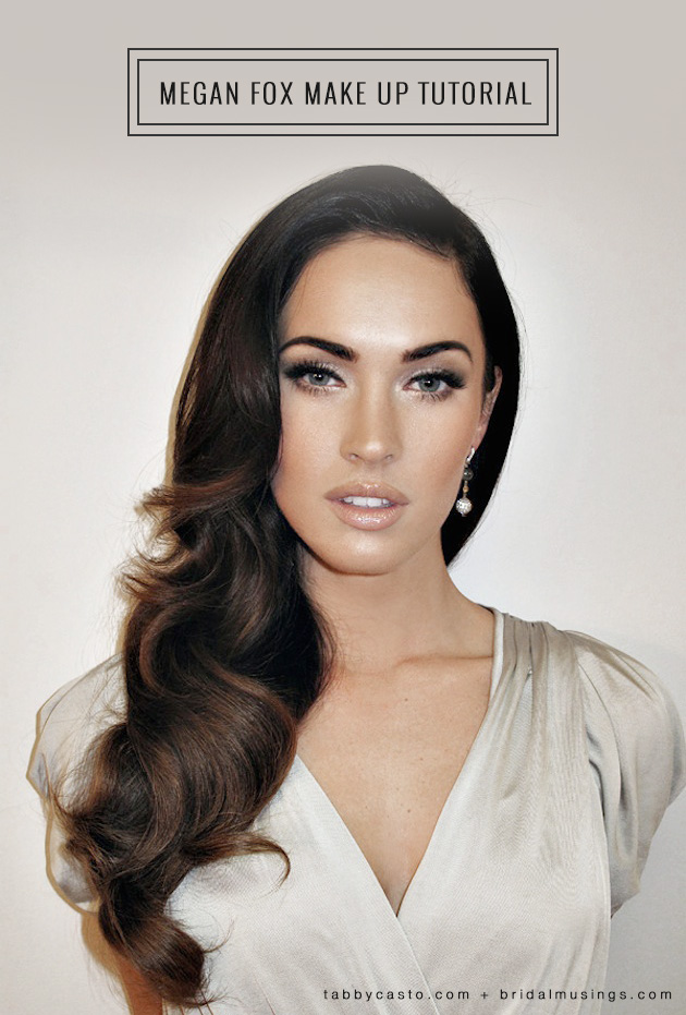 Megan Fox Make Up Images and Pictures - Becuo