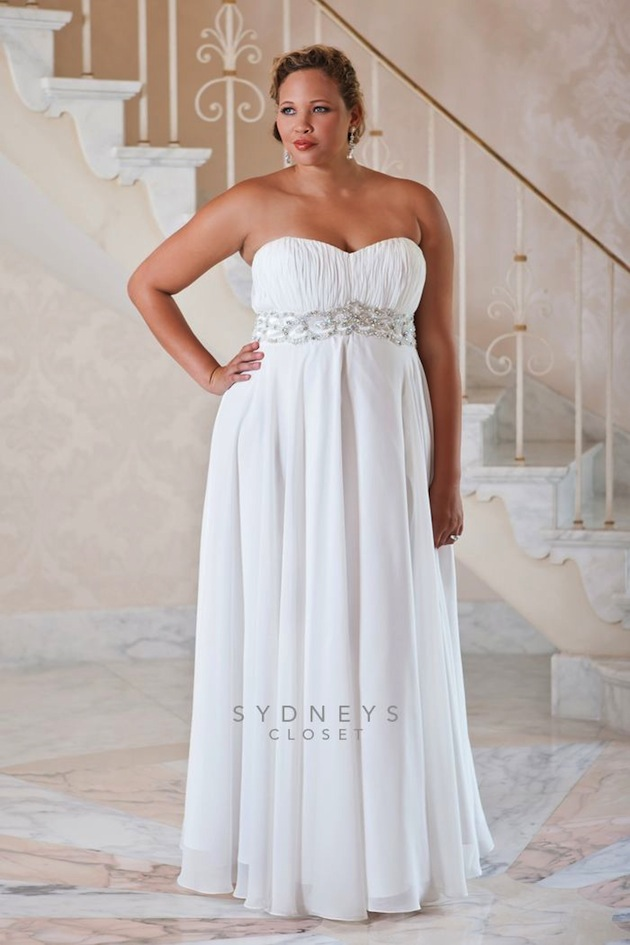 fc979817633 Plus Size Wedding Dresses From 10 of The Top Plus Size Wedding Dress  Designers - crazyforus