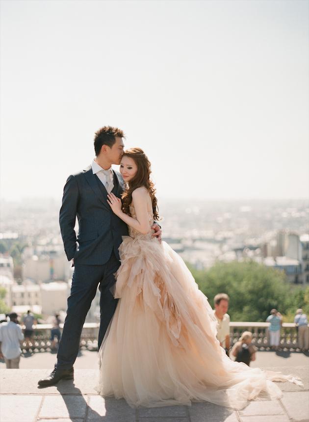 Parisian Chic Wedding Dress : Paris engagement shoot by aneta mak bridal musings wedding g