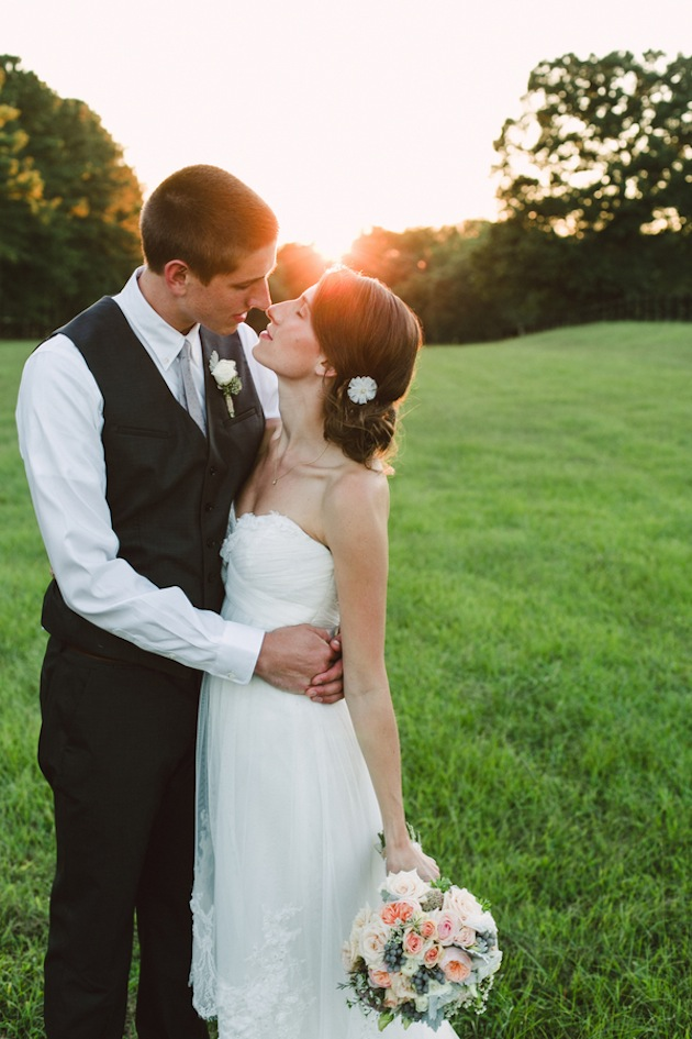 Rustic Raleigh Wedding Captured by Brett and Jessica