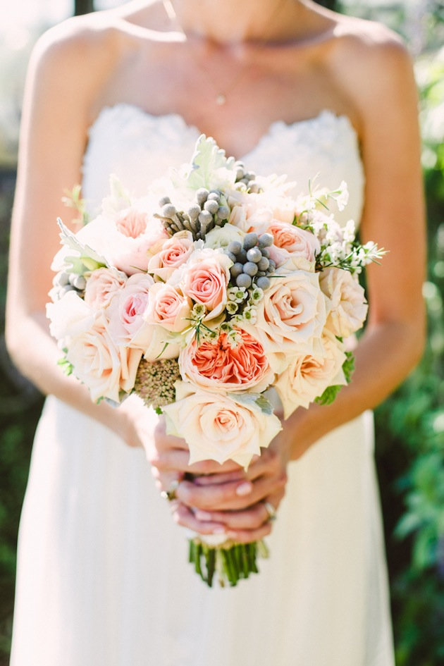 Wedding Flowers Pink And Gold : Pink and gold diy wedding by brett jessica photography