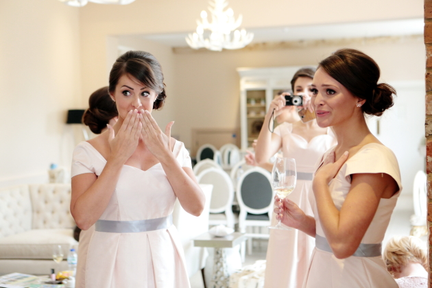 Grey bridesmaid dresses with pink flowers 2018 images pictures all the flowers were composed grey bridesmaid dresses with pink flowers mightylinksfo