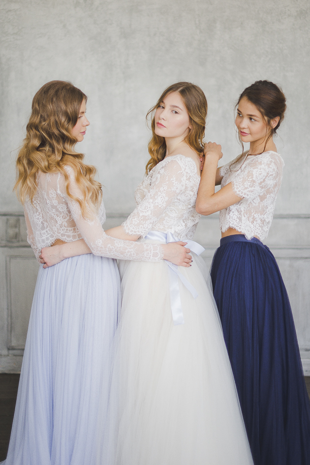 Lace Sleeve Dresses | Bridal Musings Wedding Blog