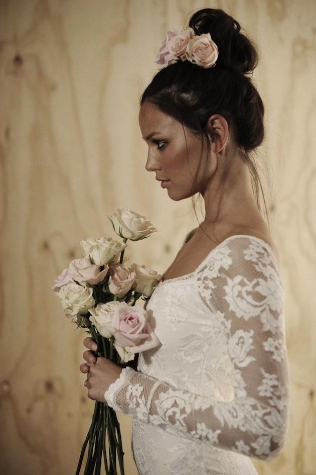 30 Gorgeous Lace Sleeve Wedding Dresses
