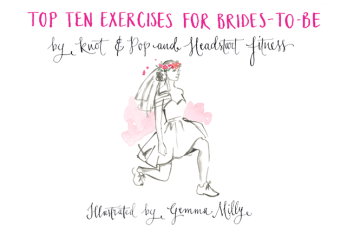 Top 10 Exercises For Brides To Be: A Beautifully Illustrated Fitness Plan