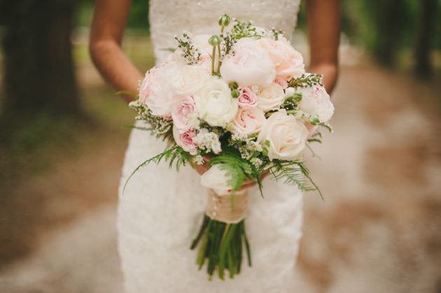 Bridal Flowers Blush Pink : Blush pink and mint rustic diy wedding by beca companioni