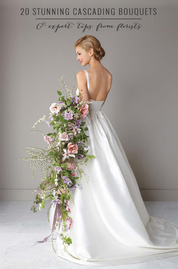 Wedding Cascade Bouquet Ideas : Stunning cascading bouquets expert tips from florists