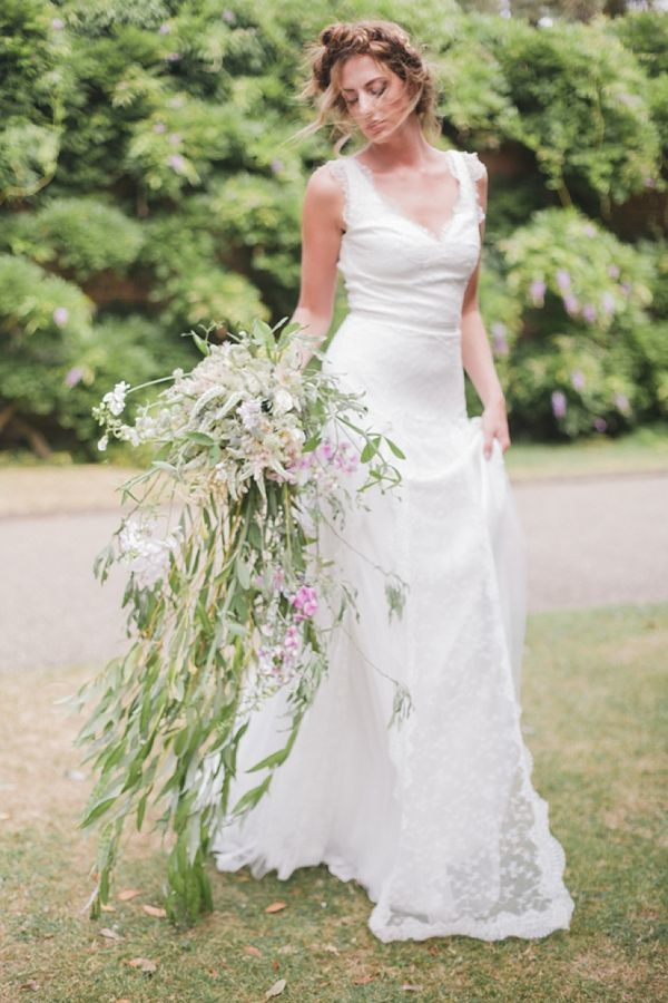 Flowing Cascading Bouquets Bridal Musings