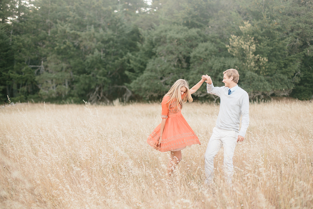 California Countryside Engagement Shoot | Kristen Booth Photography | Bridal Musings24