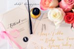 DIY Calligraphy | Ashley Lurcott The Lettered Bride | Bridal Musings 2
