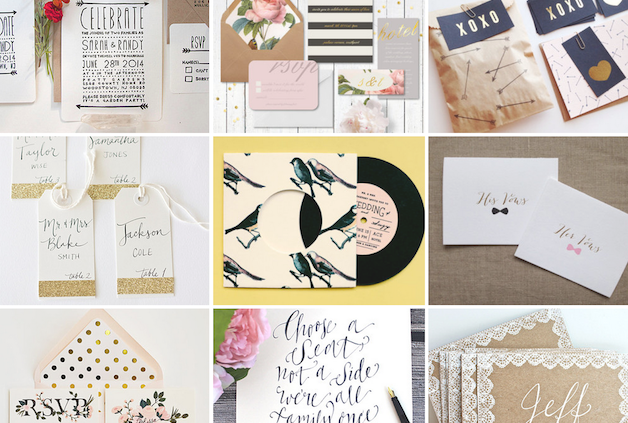 Etsy Invitations | Bridal Musings