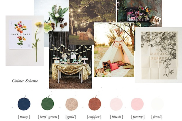 Gemma Milly Inspiration Board | Bridal Musings