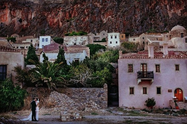Greek Wedding in Monemvasia | Bridal Musings