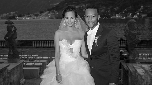 John Legend Wedding Photo