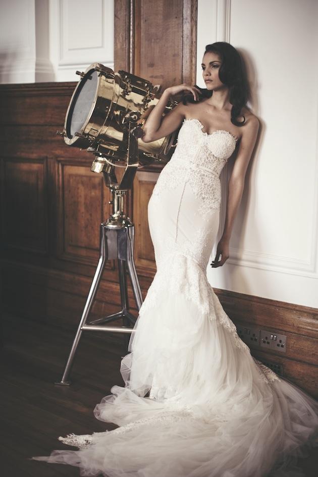City Chic Wedding Dresses : London wedding inspiration featuring inbal dror dresses