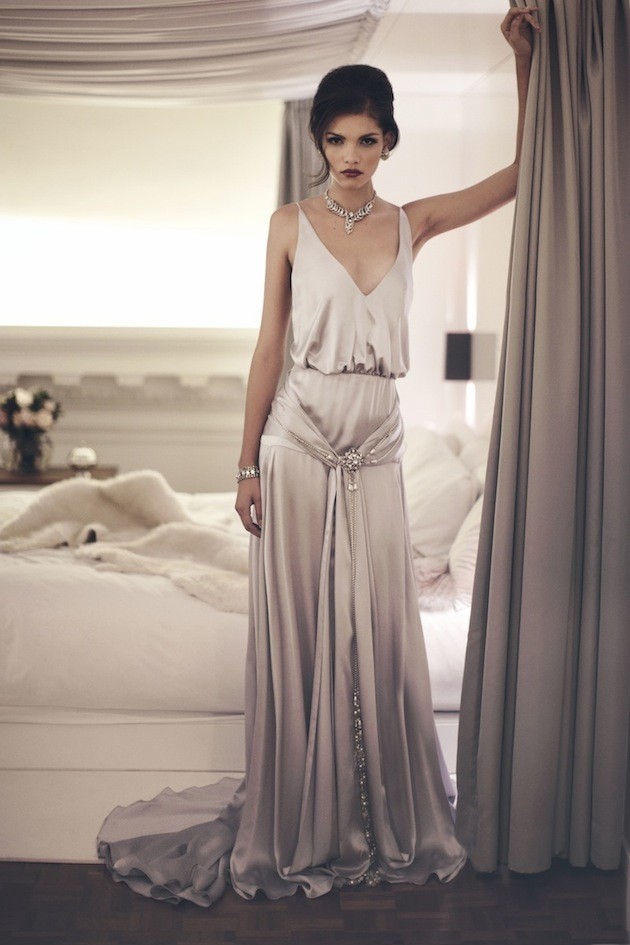 London wedding inspiration featuring inbal dror wedding for Roaring 20s wedding dress